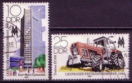 DDR Nr.2498/9         O Used       (11929) ( Jahr: 1980 ) - Gebraucht