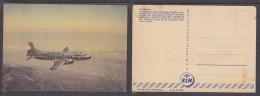 NETHERLANDS: KLM, CORVAIR LINER, Unused Picture Post Card - Flugzeuge