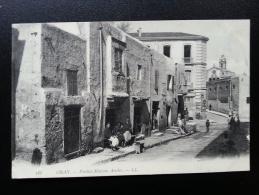 CP Carte Postale Postcard Algerie Oran Vieilles Maisons Arabes Très Animée (3) - Oran