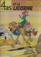 """LES 4 AS  """" ET LA LICORNE """"  -  CRAENHALS / CHAULET - E.O.  AOUT 1980  CASTERMAN - 4 As, Les"""