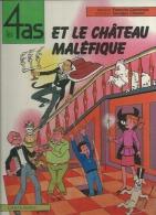 """LES 4 AS  """" ET LE CHATEAU MALEFIQUE """"  -  CRAENHALS / CHAULET - E.O.  MAI 1982  CASTERMAN - 4 As, Les"""