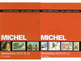 Catalogue West-Africa Band 5 I+II MICHEL 2013 New 148€ A-Z Benin Mali Burkina Faso Togo Gambia Niger Ghana Guinea Bissau - Allemand