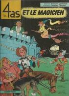"""LES 4 AS  """" ET LE MAGICIEN """"  -  CRAENHALS / CHAULET - E.O.  SEPTEMBRE 1985  CASTERMAN - 4 As, Les"""