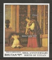 PINTURA - BHUTAN 1989 - Yvert #H154 - MNH ** - Arte