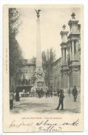 CPA -AIX EN PROVENCE -PLACE DES PRECHEURS -Bouches Du Rhône (13) -Circulé 1903 -Animée -Edit. C. Martinet -Phot. Jouven - Aix En Provence
