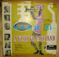 -   Disque De Jazz  - 33 Tours L.P. -  A Visit To Jazzland - - Jazz