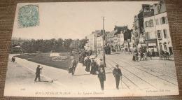 Boulogne Sur Mer - Le Square Daunou - Tramway - Boulogne Sur Mer