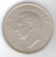 AUSTRALIA 1 FLORIN 1951 AG - Monnaie Pré-décimale (1910-1965)