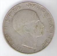 JUGOSLAVIA 5 DINARA 1938 AG - Jugoslavia