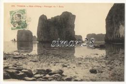 """TONKIN - N° 279 - BAIE D'ALONG - PARRAGES DU """"SULLY"""" - Vietnam"""