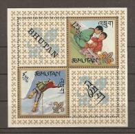 SCOUTS - BHUTAN 1967 - Yvert #H5, MNH ** - Movimiento Scout