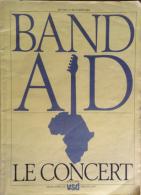 Revue VSD - Band Aid - Le Concert - RARE - Varia