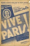 Partition De 1933 VOUS, Qu´avez Vous Fait De Mon Amour (tango) Création Ray Ventura CASINO De PARIS. - Musique & Instruments
