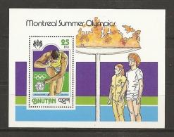 JUEGOS OLÍMPICOS - BHUTAN 1978 - Yvert #H77 - MNH ** - Verano 1976: Montréal