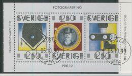 SWEDEN 1990 PHOTOGRAPHY USED PANE - Usati