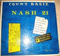 -   Disque De Jazz  - 33 Tours L.P. - Count-Basie - Pochette Bleue Et Jaune - - Jazz