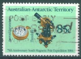AUSTRILIAN ANTARCTIC TERRITORY - 1984 - USED/OBLIT. - THEODOLITE BAROMETER-  Yv 84  - Lot 7965 - Territoire Antarctique Australien (AAT)