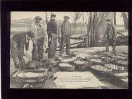44 Le Croisic Pêcheurs Débarquant Leurs Poissons Pour La Vente à La Poissonnerie édit. Lassalle N° 13 Animée Pêche - Le Croisic