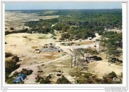 Grayan-L´Hopital (Gironde 33) Recto-Verso, Vue Aérienne, Les Etablissements Et Le Camping Au Gurp, Circulée 22 Août 1975 - France