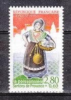 FRANCE / 1995 / Y&T N° 2979 : Santon (Poisonnière) - Choisi - Cachet Rond - France