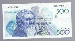 BELGICA -   500 Francs   ND  P-141 - Belgio