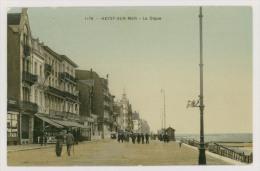 HEYST-sur-MER : La Digue, 1911 - Glacée En Couleur *f6176 - Heist