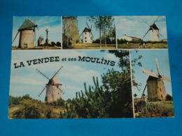 85) La Vendee Et Ses Moulins  - N° 85.178 - Grand-format - Année 1972 - EDIT- Théojac - France
