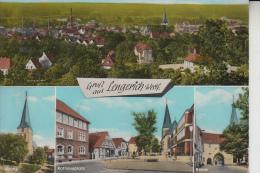 4540 LENGERICH, Mehrbildkarte, Handcoloriert, 1966 - Lengerich