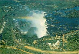 Victoria Falls, Rhodesia, Zimbabwe Postcard Used Posted To UK 1960s 1970s - Zimbabwe