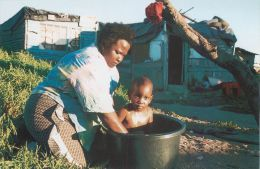 Sweet Homes Squatter Camp, Cape Town, South Africa Postcard - Sudáfrica