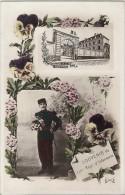 BERGUES -- Caserne Thémines - SOUVENIR Du 110e  Régt. D´infanterie - Bergues