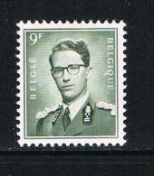 BELGIE N°1073  BOUDEWIJN  MET BRIL  1959 ** - 1953-1972 Anteojos