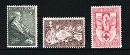 BELGIE N°967/968 + 986   1955 ** - Belgio