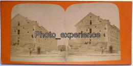 Photo Stéréo XIX Military Militaire Allemand Guerre 1870 1871 Fort De La Briche SAINT DENIS 93 - Photos Stéréoscopiques