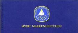 Duitsland - Sportmarkenheftchen Bundesrepubliek - Handbal - Philex SMH1 - Michel 6 X 1009 - Xx/MNH/postfris - [7] République Fédérale