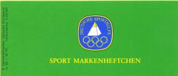 Duitsland - Sportmarkenheftchen Bundesrepubliek - Dressuur - Philex SMH2 - Michel 5 X 1047/1x 1047A - Xx/MNH/postfris - [7] République Fédérale
