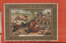 ART, TABLEAUX,  MORT DE TURENNE,      AVRIL 2013  1193 - Chromo