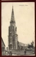 Cpa Du 22 Plouagat  L´ église   ...  édition Hamon Guingamp      PLES11 - Guingamp
