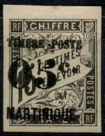 Martinique (1891) N 20 * (charniere)