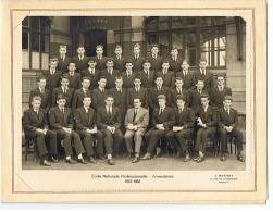 ECOLE NATIONALE PROFESSIONNELLE  -  ARMENTIERES 1957 -1958        59 (NORD) - Personnes Identifiées