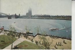 5000 KÖLN - DEUTZ, An Der Rheinfähre Zur Bundesgartenschau 1957 - Koeln