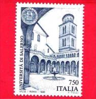 ITALIA - 1996 - NUOVO -  750 L. • Università Di Salerno • Azzurro - 1991-00: Neufs