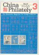 China Philately Magazine May Nr. 3 1986 - Timbres