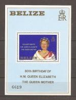 FAMILIAS REALES - BELIZE 1980 - Yvert #H19 - MNH ** - Familias Reales