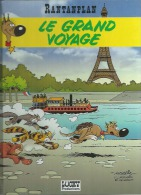"RANTANPLAN  "" LE GRAND VOYAGE ""  -  MORRIS / LEONARDO / DE GROOT - E.O.  JUIN 1998  LUCKY PRODUCTIONS - Rantanplan"