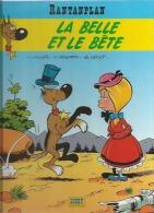 """RANTANPLAN  """" LA BELLE ET LE BETE """"  -  MORRIS / LEONARDO / DE GROOT - E.O.  OCTOBRE 2000  LUCKY PRODUCTIONS - Rantanplan"""