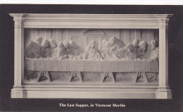 The Last Supper, In Vermont Marble, Christianity, 1900-1910s - Jesus