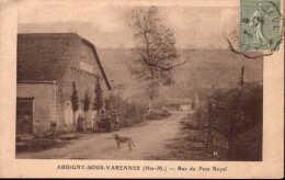 Arbigny-sous-Varennes (Htes-M.) - Rue Du Port Royal - France