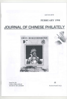 Journal Of Chinese Philatelyfebruary 1998 - Timbres