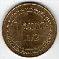 1 Euro 1/2 Des Centres E.Leclerc Du 14 Au 26 Octobre 1996 : Monnaie De Paris - Euros Of The Cities